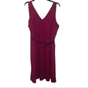 Motherhood Maternity Sleeveless Textured Dress.